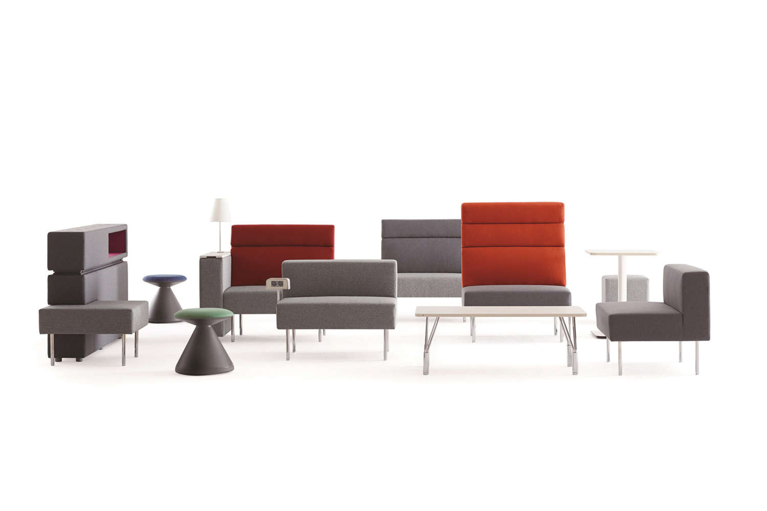 Commercial seating and stools by Square