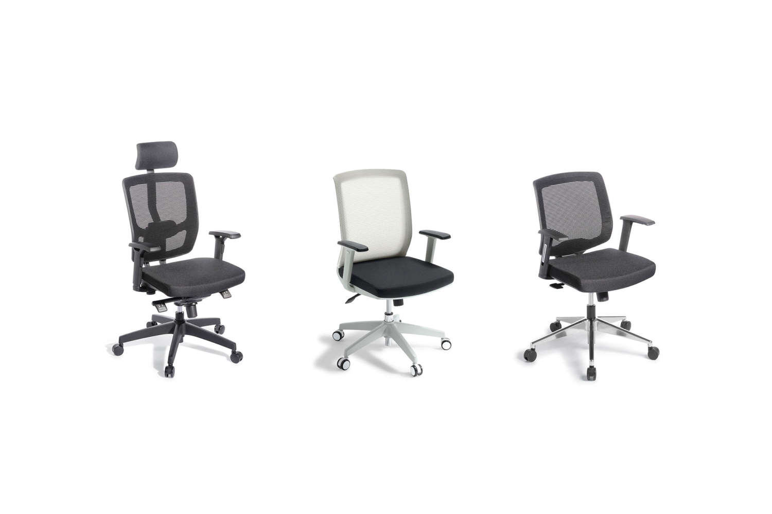 Modern workspace commercial armchairs by Media