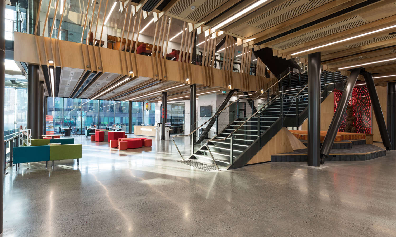 Commercial Office Fit Out Projects, workspace design | Crestline