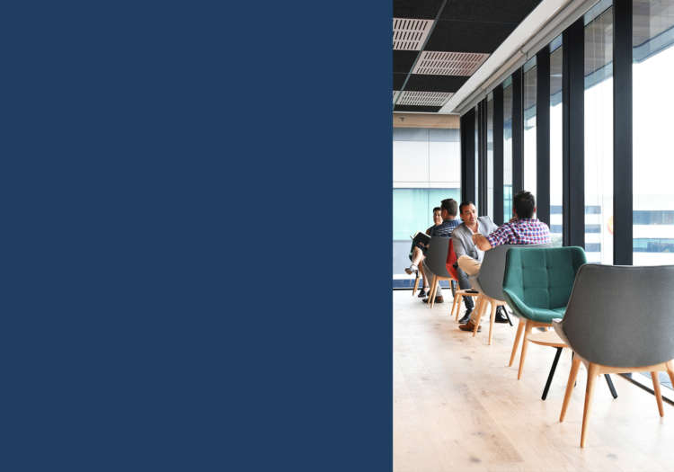 Collaborative workspace seating at Bunnings head office